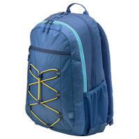 "HP BackPack Active 15.6"" Blue-Yellow"