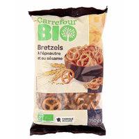 Carrefour Bio Bretzels Epeaute Sesame 150g