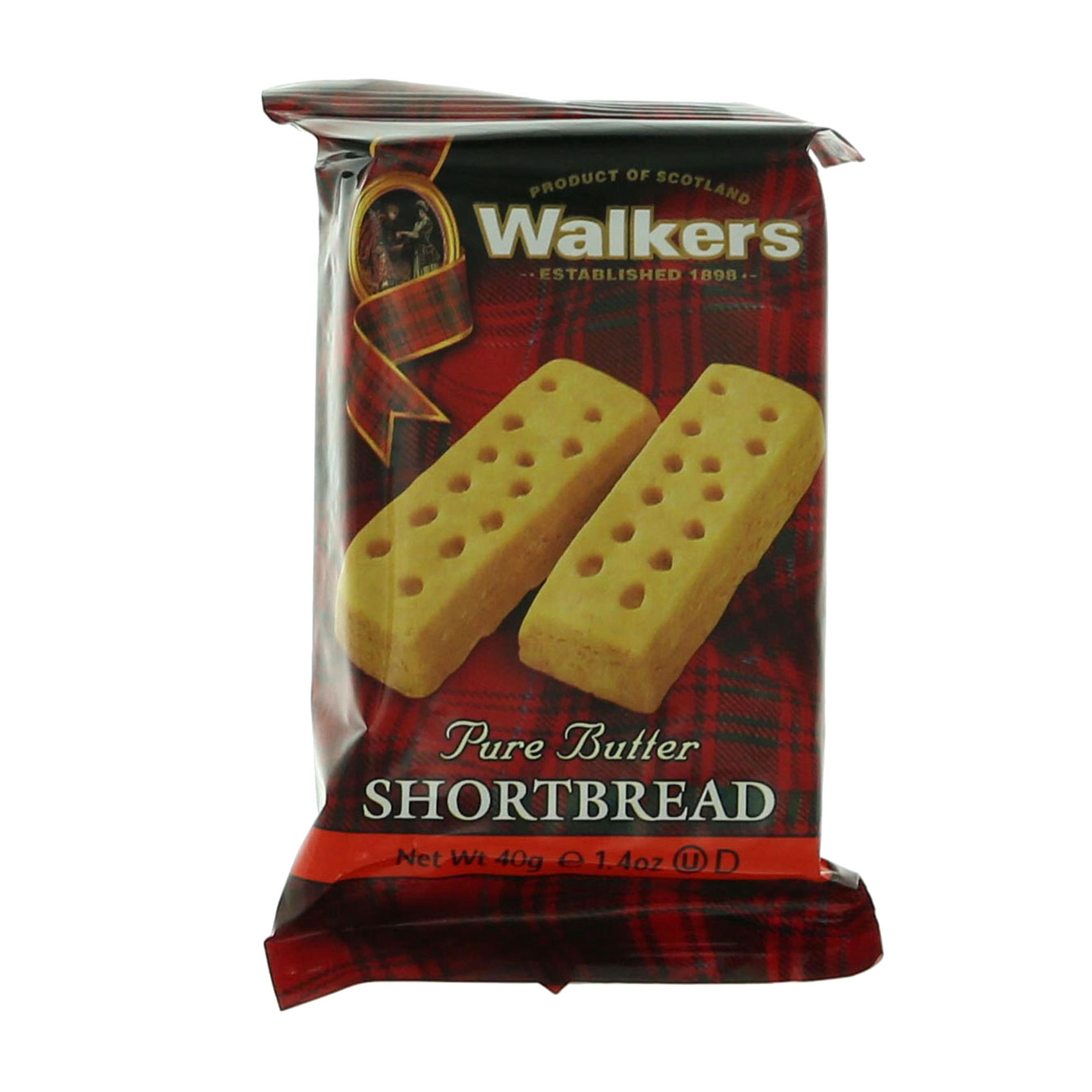 WALKERS BISCUIT FINGERS 2'S 40GR