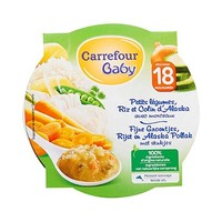 Carrefour Baby Vegetable Colin Plate 260GR