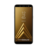 Samsung Smartphone A6 2018 A600F 64GB Gold