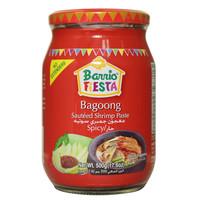 Barrio Fiesta Bagoong Sautéed Shrimp Paste Spicy 500g
