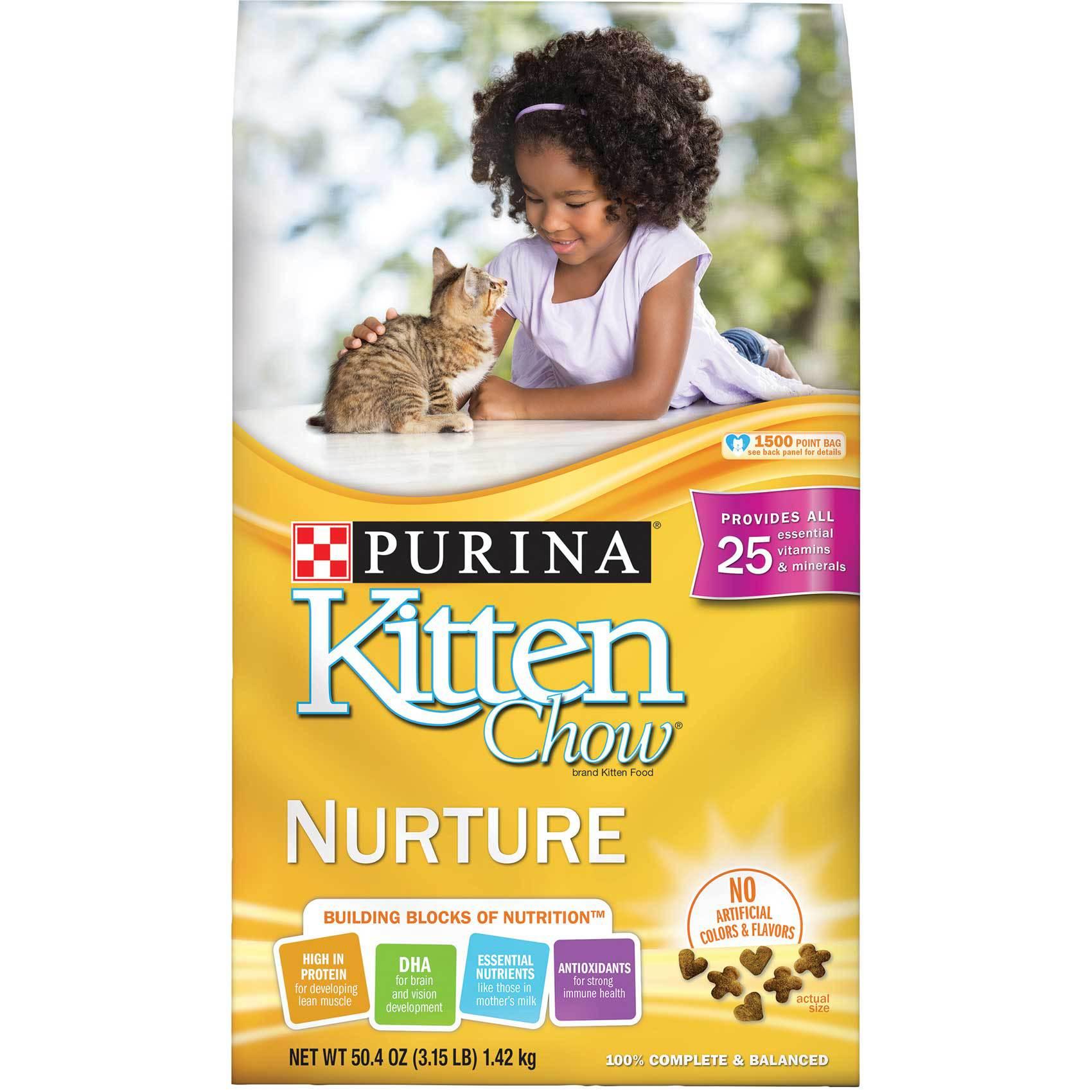 PURINA KITTEN CHOW NURTURE 1.42KG