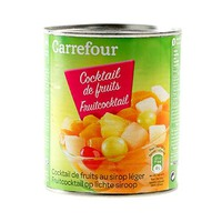Carrefour Diced Fruit Salad In Light Syrup 850GR