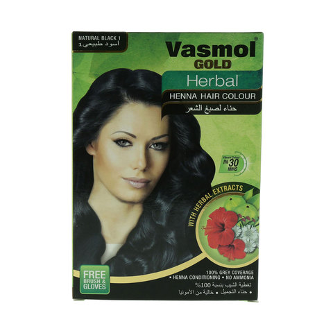 Vasmol-Gold-Herbal-Natural-1-Black-Henna-Hair-Colour-60G