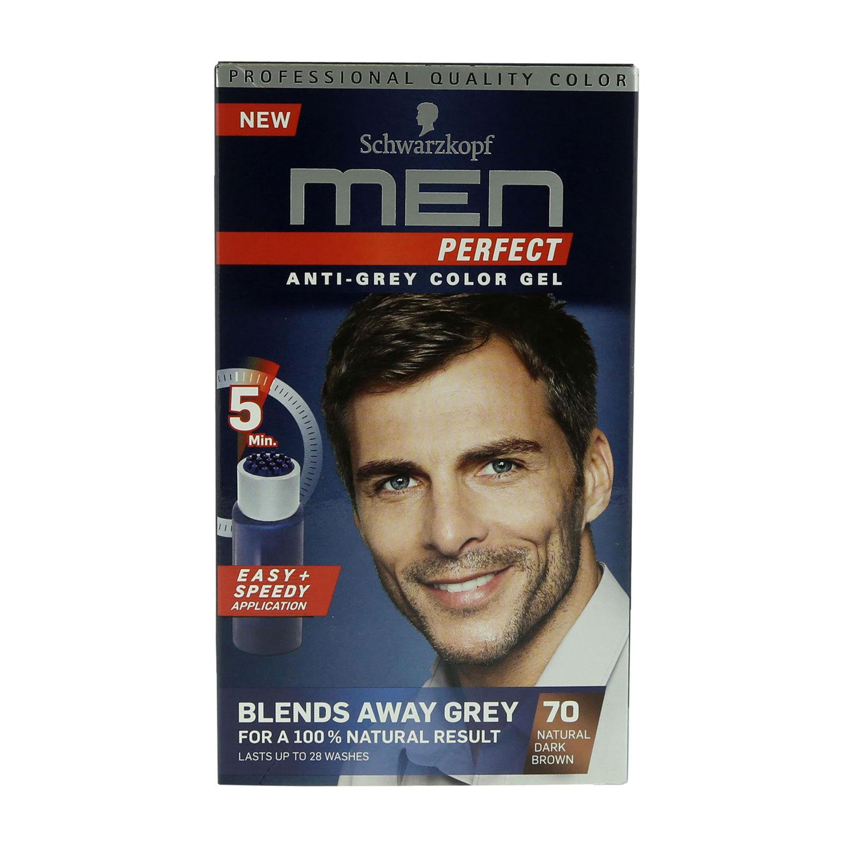 MEN  PERFECT COL 70 DARK BROWN
