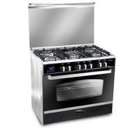 National Deluxe Gas Cooker C6090SS-BC-511 90X60 Cm Stainless Steel