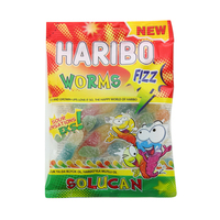 Haribo Fizz Worms 80g