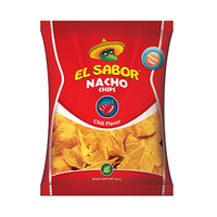El Sabor Nacho Chips Chili Flavor 100GR