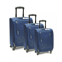 American Tourister Jamaica Spinner Luggage Bag Set Grey 3 Pieces
