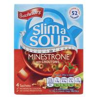 Batchelors Slim A Soup Minestrone 4 sachets, 61g