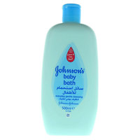 جونسون سائل استحمام للأطفال للتنظيف اليومي لطيف 500 مل