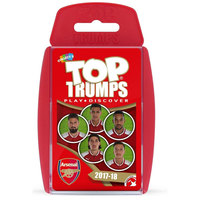 Top Trumps Card Game -Arsenal FC