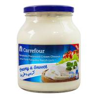Carrefour Spreadable Processed Cream Cheese 910g