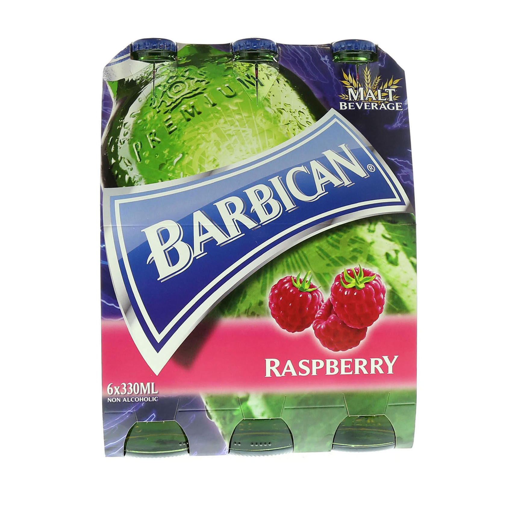 BARBICAN N/ALCO BEER R/BERRY330MLX6