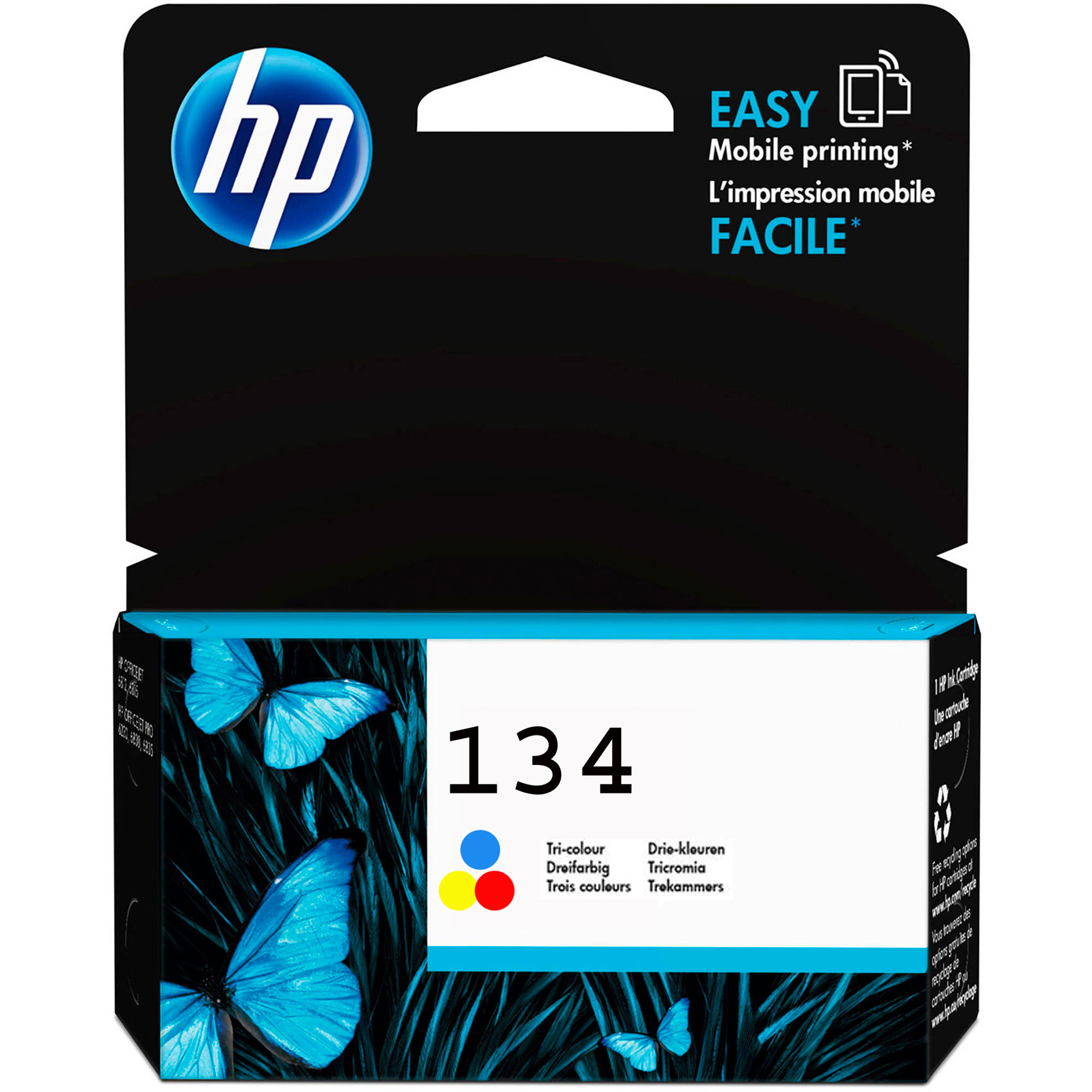 HP CART 134 TRICOLOR IJ 14ML