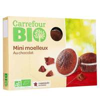 Carrefour Bio Organic Sweet Mini Chocolate Fondants 200g