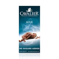 Cavalier Chocolate & Milk Bar No Sugar 85GR