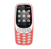 Nokia 3310 Dual SIM, 128MB, 64MB RAM, 3G - Red