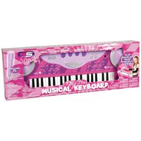 Super Sonic My First Keyboard With Mic B/O For Girls