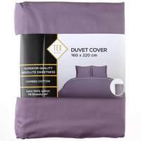 TEX Quilt Cover Single Violet