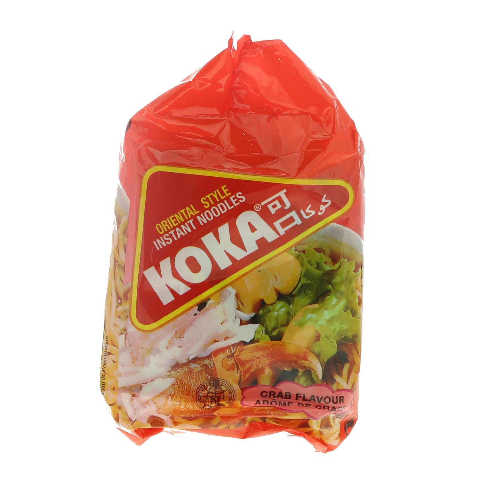 KOKA NOODLES CRAB 85GRX5