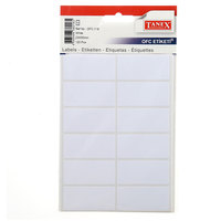 Tanex  Label 23X50Mm 12L White