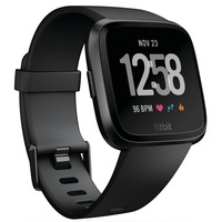 Fitbit Smart Watch Versa Black Aluminum