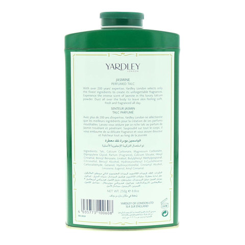 Yardley-Jasmine-Perfumed-Talc-250g