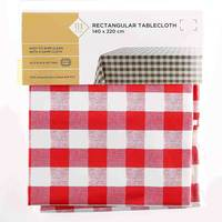 TEX Table Cloth 140x220 Red