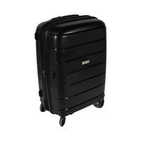 ترافل هاوس حقيبة سفر خامة صلبة من البولي بروبلين مقاس 24 إنش لون أسود