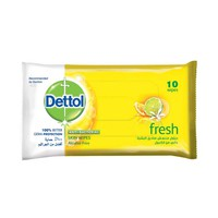 Dettol Fresh Skin Wipes 10 Sheets