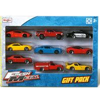 MaistoDiecast Fresh Metal Cars -9 Pcs per Pack
