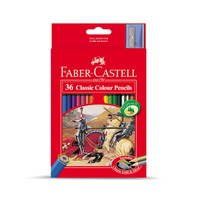 Faber Castell Clasc Col.Pencil 36'S