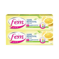 Fem Hair Cream Remover Lemon 120ML X 2 -20% Off