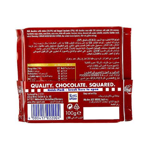 Ritter-Sport-Raisins-Hazelnuts-Chocolate-100g