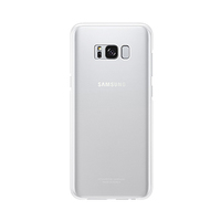 Samsung Galaxy S8 Clear Cover-Silver