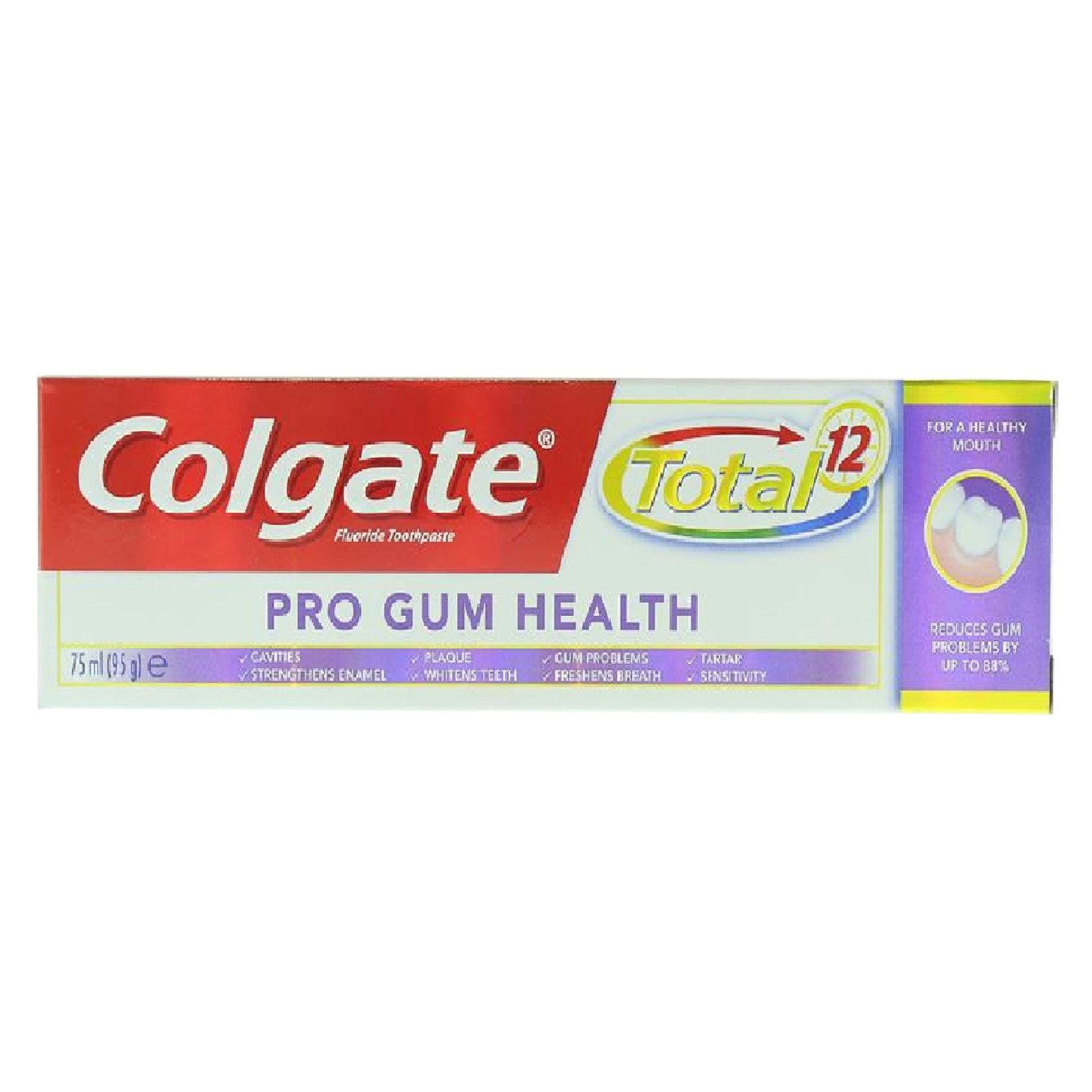 COLGATE TOTAL PRO GUM T/PASTE 75ML