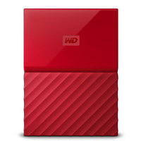 WD Hard Disk 4TB My Passport Red Worldwide