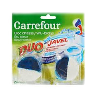 Carrefour Chasse Eau Bleu Javel 2 Blocs