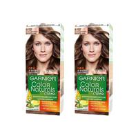 Garnier Color Hair Nude Light Brown No.6.132 2 Pieces