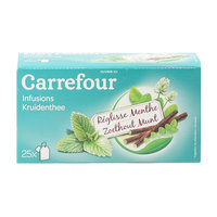 Carrefour Licorice Mint Herbal Tea 25's