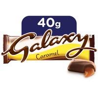 Galaxy caramel chocolate bar 40 g