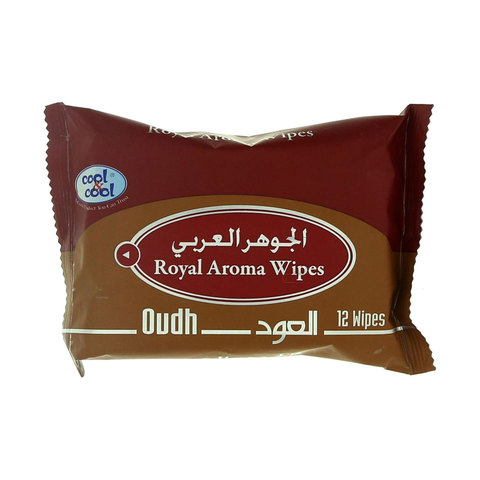 Cool-&-Cool-Oudh-Royal-Aroma-Wipes-12-Wipes