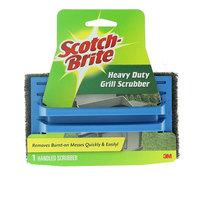 Scotch Brite Heavy Duty Grill Scrubber 1 Handeld Scrubber
