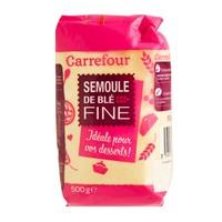 Carrefour Thin Whole Wheat Semolina 500 Gram