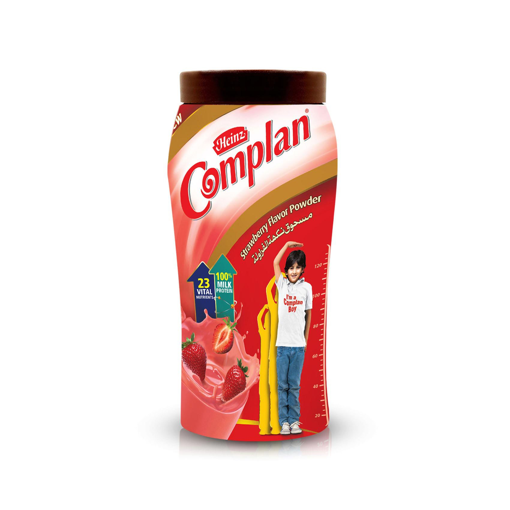 COMPLAN STRAWBERRY BOTTLE 400G