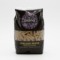Biona Wholewheat Penne 500 g