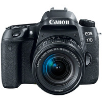 Canon SLR Camera EOS 77D 18-55MM IS STM Lens Kit