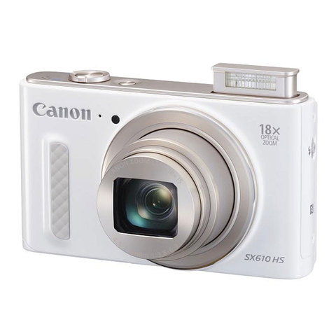 Canon-Camera-PowerShot-SX610HS-White-+-4GB-Card-+Case